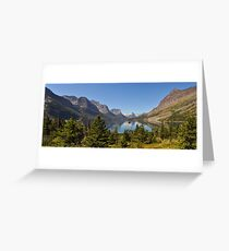 Saint Mary Lake & Wild Goose Island Greeting Card