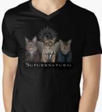 Supurrnatural Men's V-Neck T-Shirt