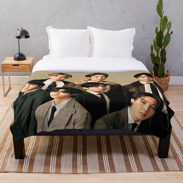 Aesthetics  BTS Cover Throw Blanket