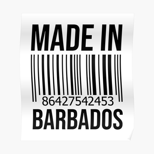 Made in Barbados Poster