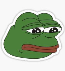 Sad Pepe Sticker