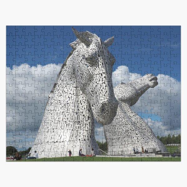 The Kelpies , Helix Park , Falkirk Jigsaw Puzzle
