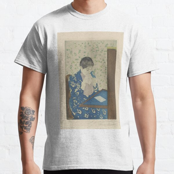 The Letter By Mary Cassatt Classic T-Shirt