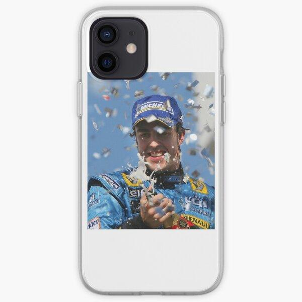 Fernando Alonso Renault Funda blanda para iPhone