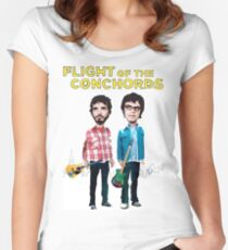 Flight Of The Conchords Women's Fitted Scoop T-Shirt