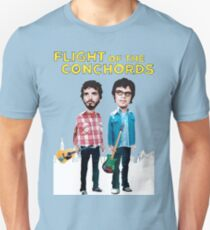 Flug der Conchords Slim Fit T-Shirt