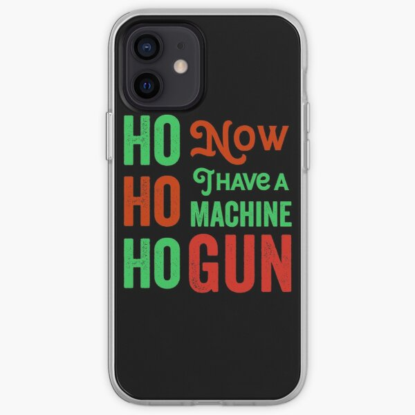 Ho ho ho now i have a machine gun - Die Hard Xmas Jumper for holiday party lovers  iPhone Soft Case