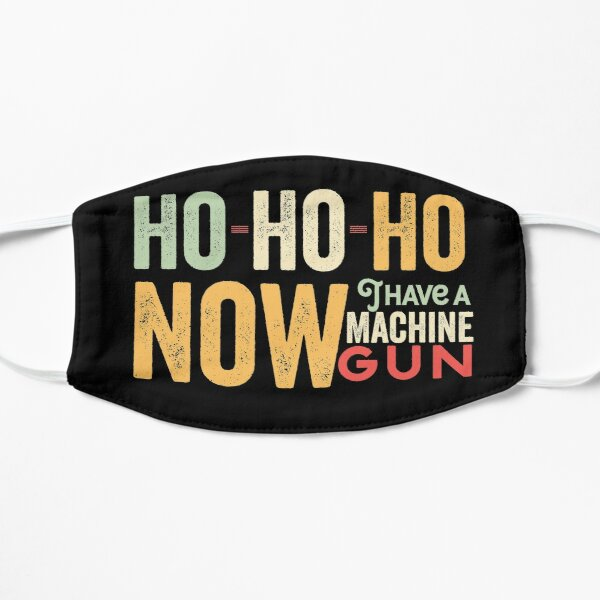 Ho ho ho now i have a machine gun - Die Hard Xmas Jumper for holiday party lovers  Mask