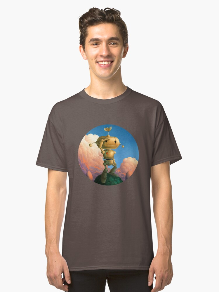 Still Searching Classic T-Shirt Front