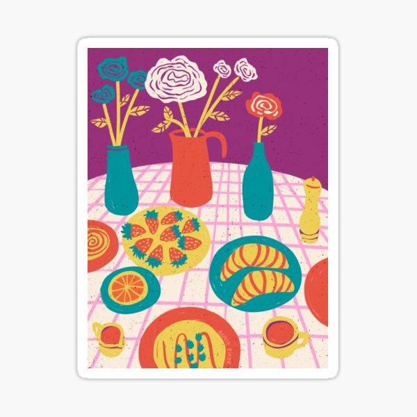Brunch Table Sticker