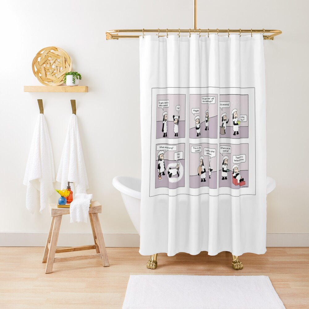 cookies Shower Curtain