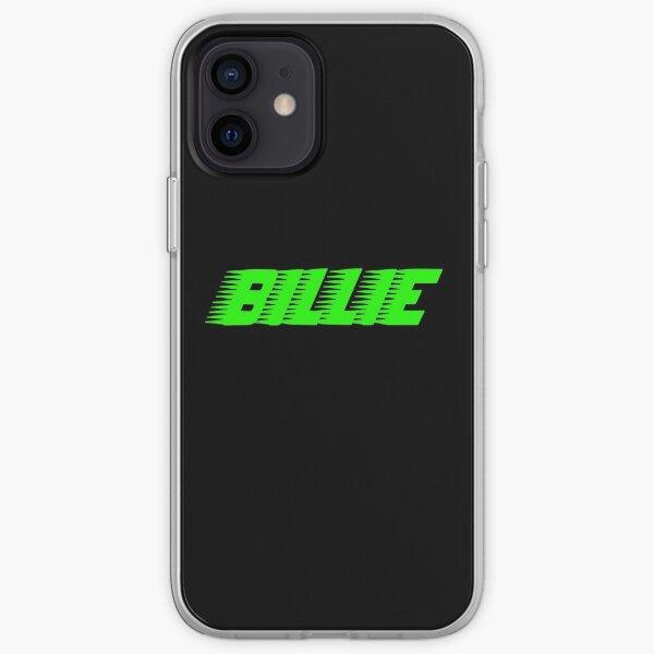 Vert Billie Eilish Racer Logo Officiel Coque souple iPhone