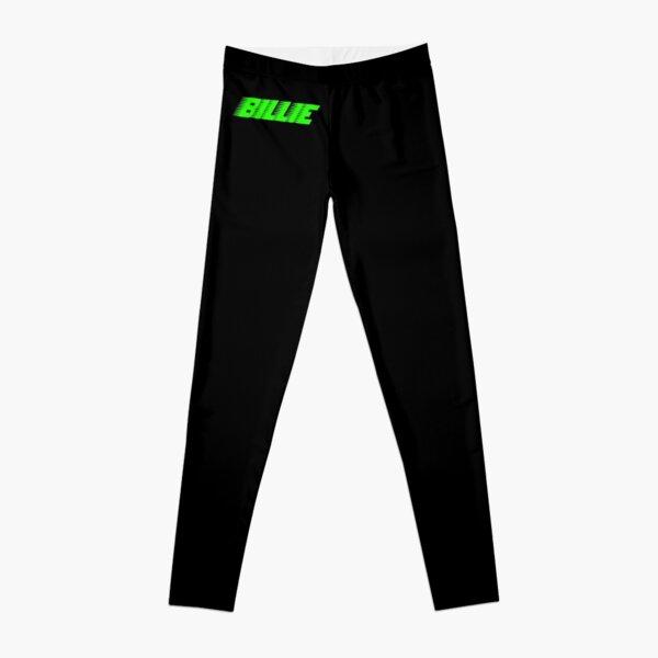 Green Billie Eilish Racer Logo Official   Leggings