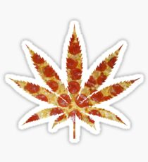 Weed N Pizza Sticker