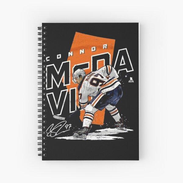 Connor McDavid for Edmonton Oilers fans Spiral Notebook