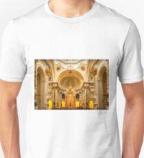 Inside the church of La Mare de Déu del Consol T-Shirt