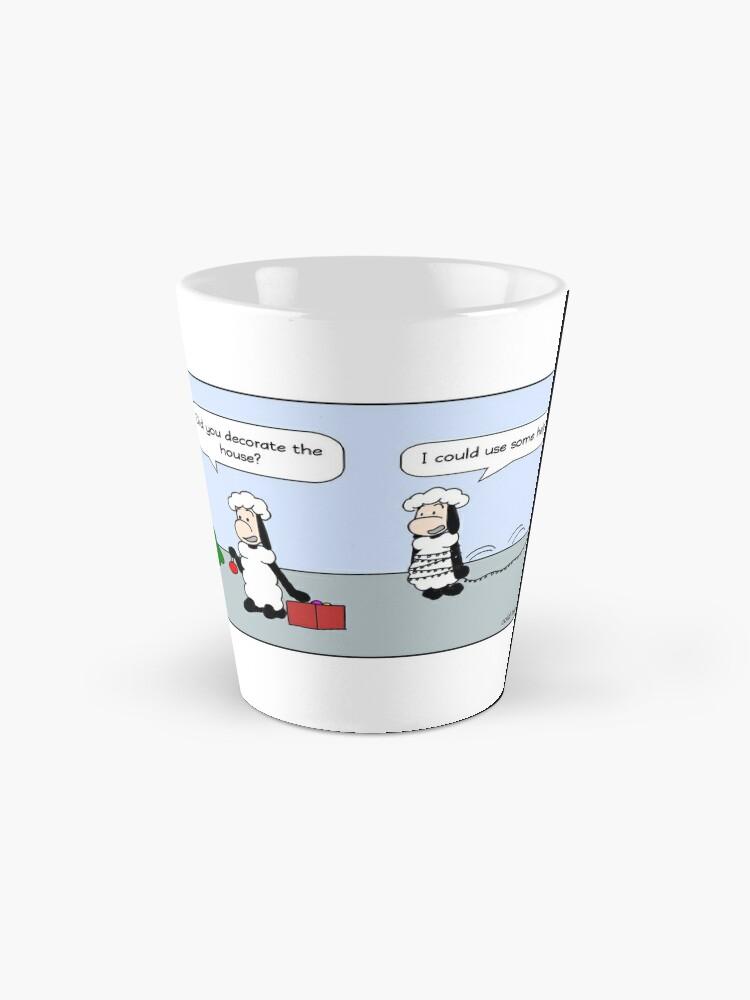 Alternate view of christmas decoration Mug
