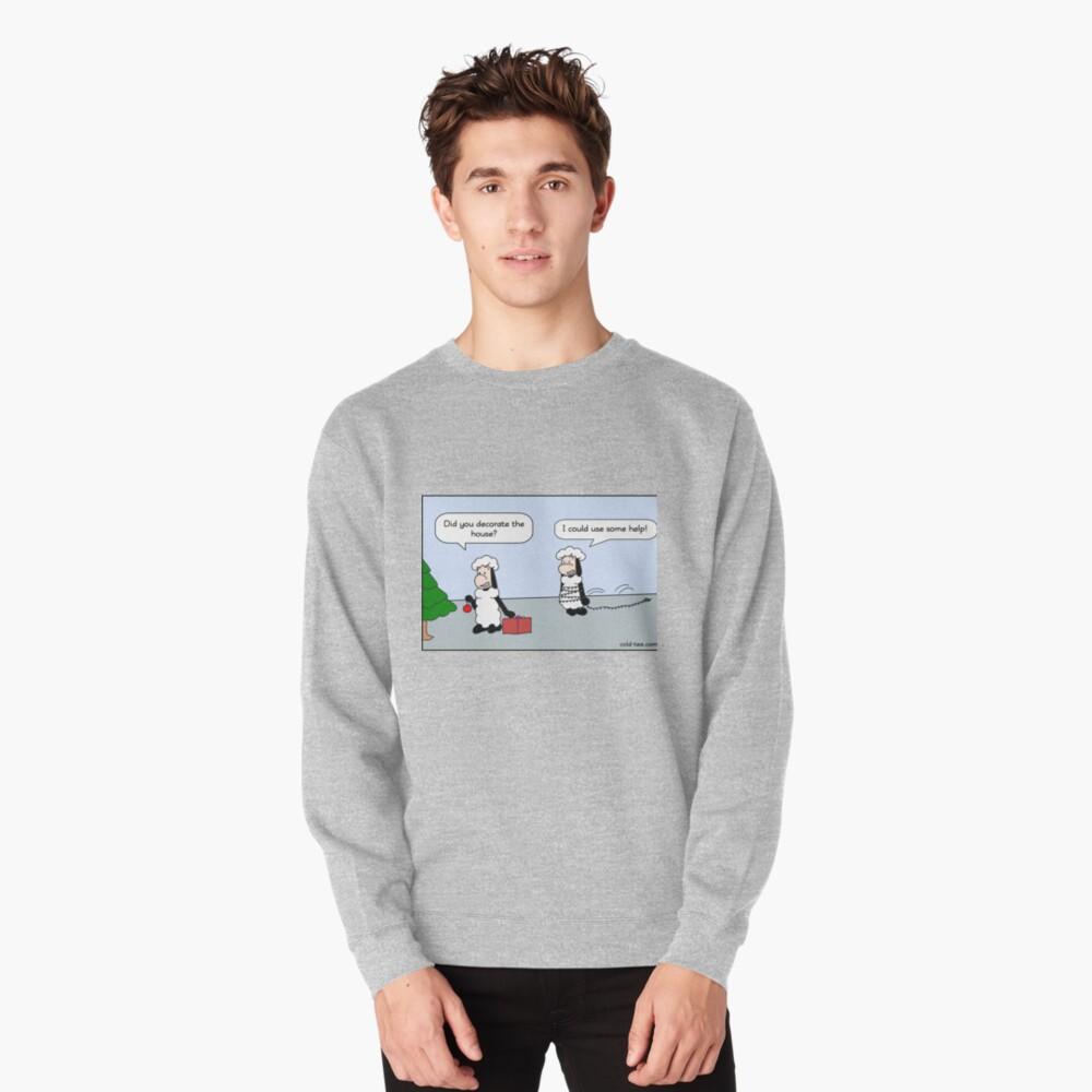 christmas decoration Pullover Sweatshirt