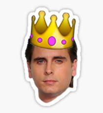 Scott Emoji Crown Sticker
