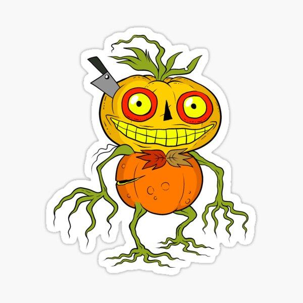 Pumpkin Creature Sticker