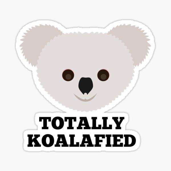 Kawaii Koala Boba Pegatina