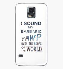I Sound My Barbaric Yawp Galaxy Case/Skin for Samsung Galaxy