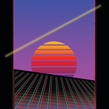 Retro Sunset by narufry
