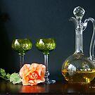 Crystal Glasses by Gilberte