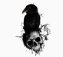 Raven and Skull Unisex T-Shirt