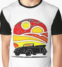 Sunset Beetle silhouette Graphic T-Shirt