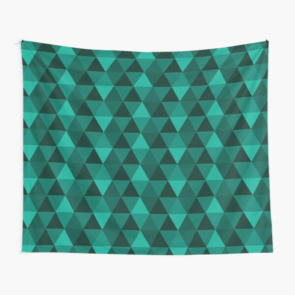 Emerald Quilt Tapestry