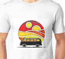 Sunset Split Unisex T-Shirt
