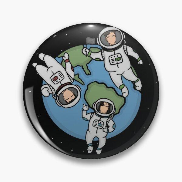 three little astronauts h3 bros edition Pin