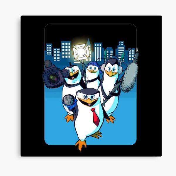 let's go penguins Canvas Print