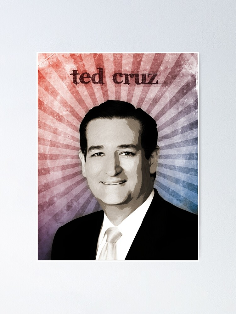 Alternate view of Ted Cruz Poster