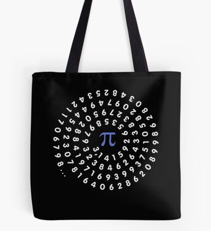 Circumference Pi VRS2 Tote Bag