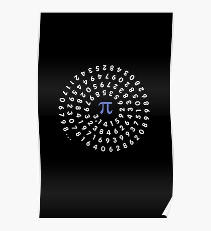 Circumference Pi VRS2 Poster
