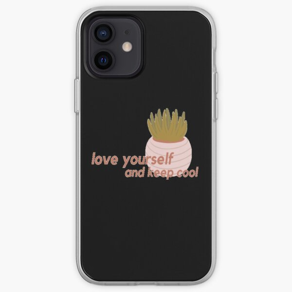love yourself and keep cool iPhone Soft Case
