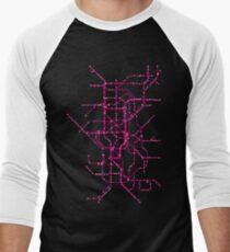 The Tube Men's Baseball ¾ T-Shirt