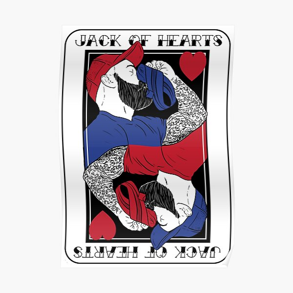 Jack of hearts - Jack Dixon Poster