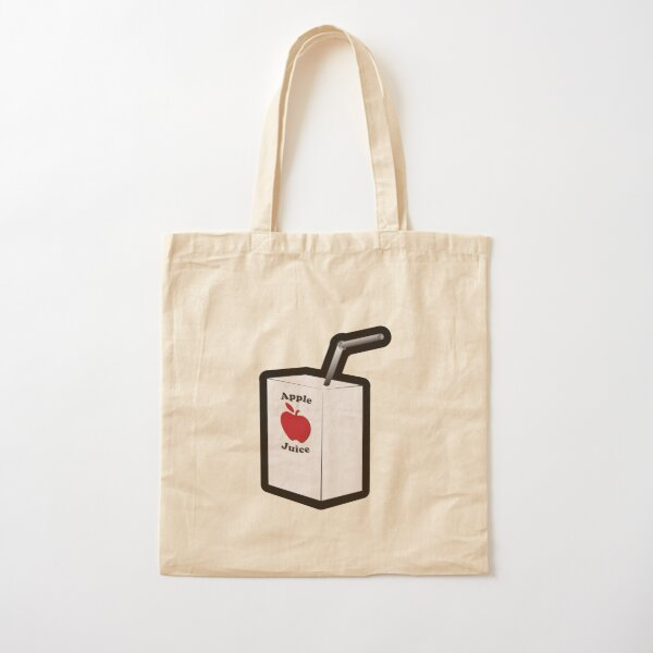 Drink Your Apple Juice Cotton Tote Bag