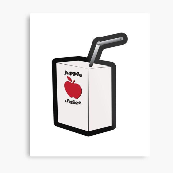 Drink Your Apple Juice Metal Print