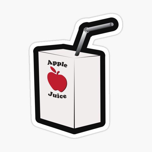 Drink Your Apple Juice Sticker