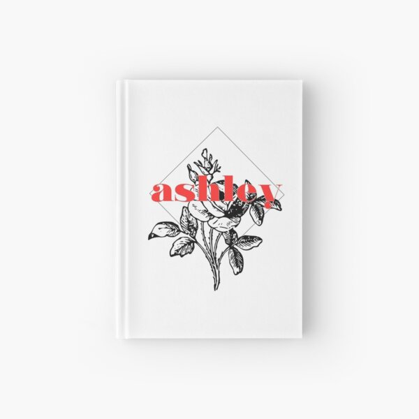 Floral name - Ashley Hardcover Journal