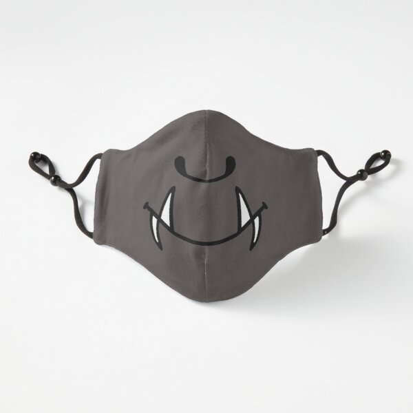 Cartoon Troll Mask Fitted 3-Layer