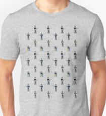 pattern of musicians Unisex T-Shirt