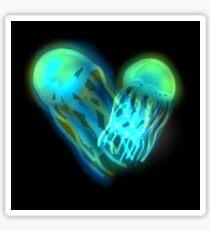 Glowing Jellyfish Sticker