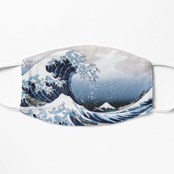 Great Wave Off Kanagawa Flat Mask