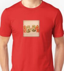 Asian Chinese Guardian Lions (Foo Dogs) Unisex T-Shirt
