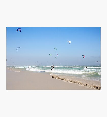 World Record - Kitesurfing Armada - Cape Town, South Africa Photographic Print